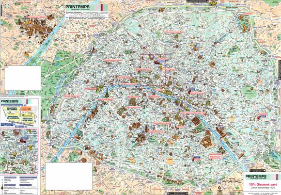Туристическая план-карта