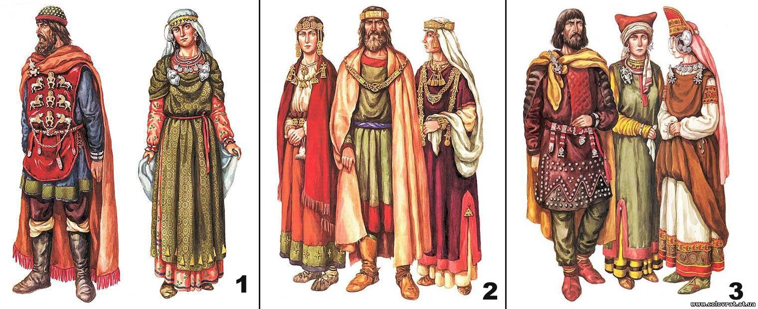 Рис 6 одежда антов киевская и